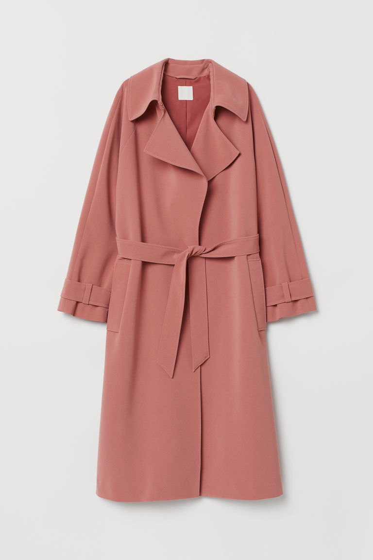 Trenchcoat - Oudroze -  | H&M BE