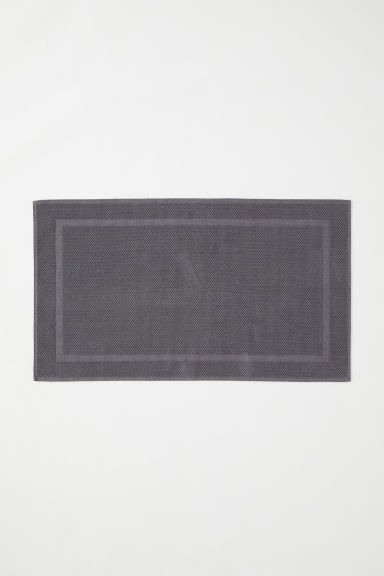 Large bath mat - Grey - Home All | H&M CN