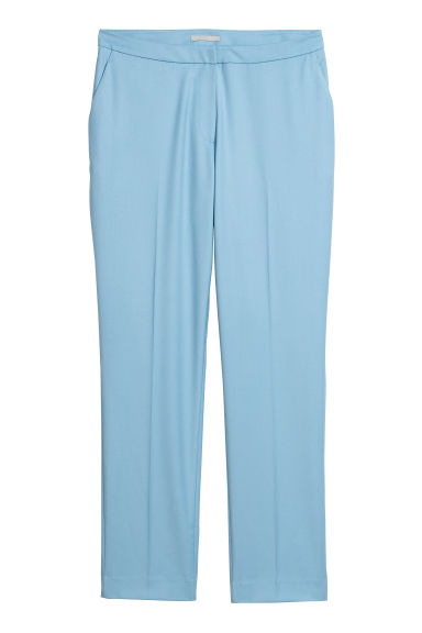Tailored trousers - Light blue - Ladies | H&M CN
