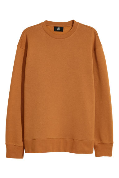 Sweatshirt Loose fit - Ochre - Men | H&M CN