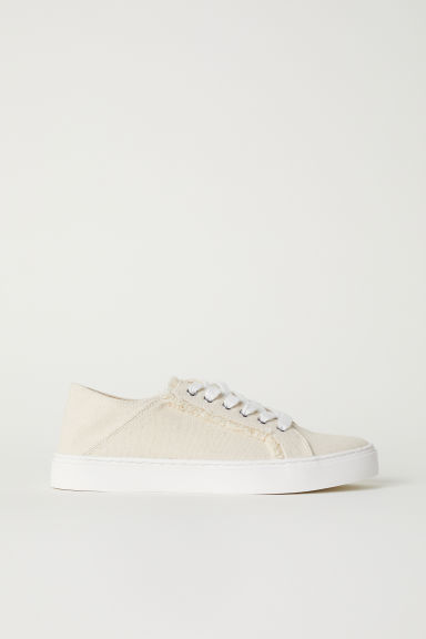 Slip-on trainers - Light beige -  | H&M CN