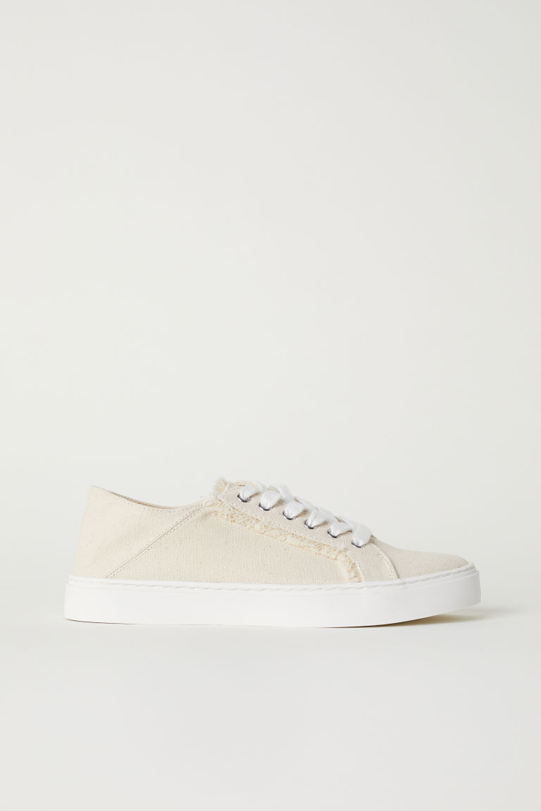 Slip-on trainers - Light beige - Ladies | H&M