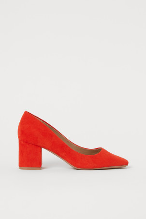 Block-heeled Pumps