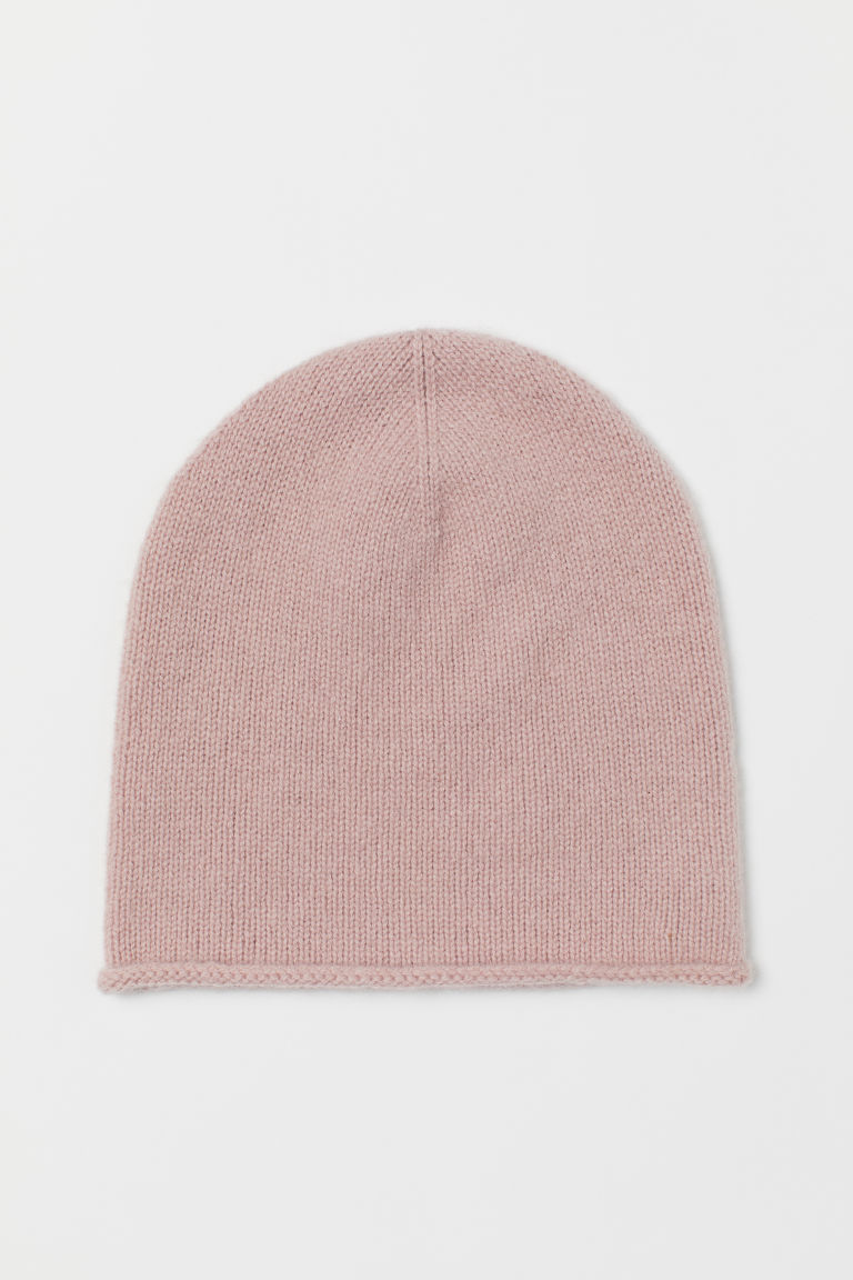 Cashmere Hat - Powder pink - Ladies | H&M CA
