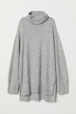 Jersey de cuello alto de punto 5cfd0d659617