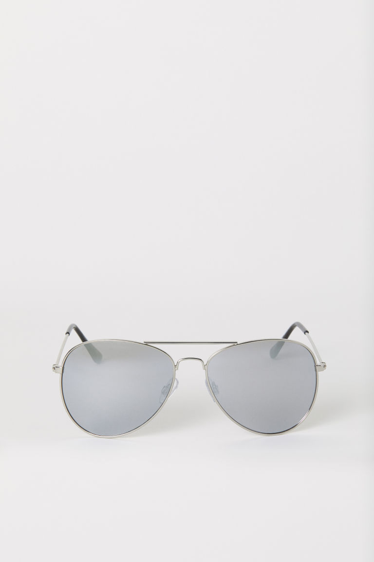 Sunglasses - Silver-colored - Ladies | H&M US
