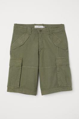 Short cargo en twill de coton 314bf945a16