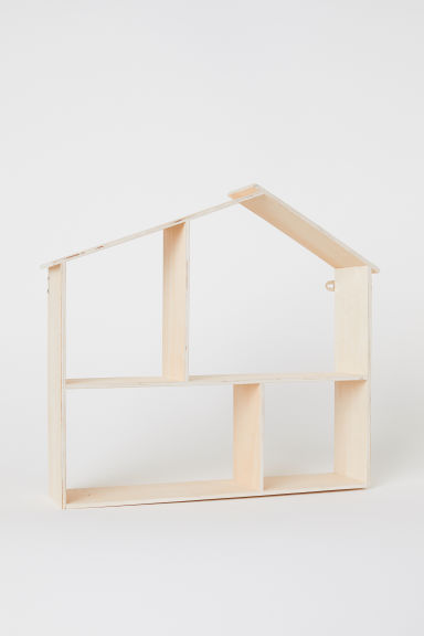 Mensola in legno forma di casa - Legno - HOME | H&M IT