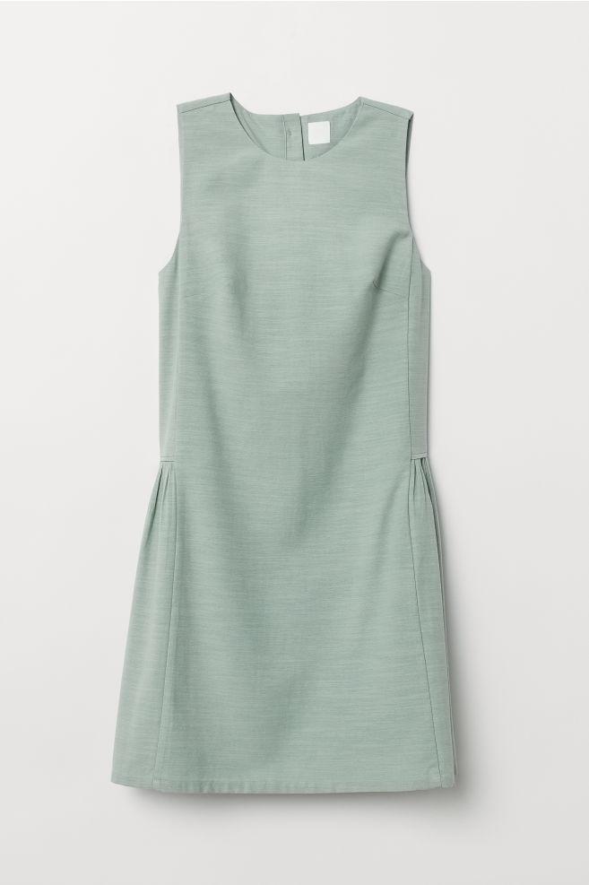 8f435a56fb3b3 Lyocell-blend Dress - Mint green - Ladies | H&M ...