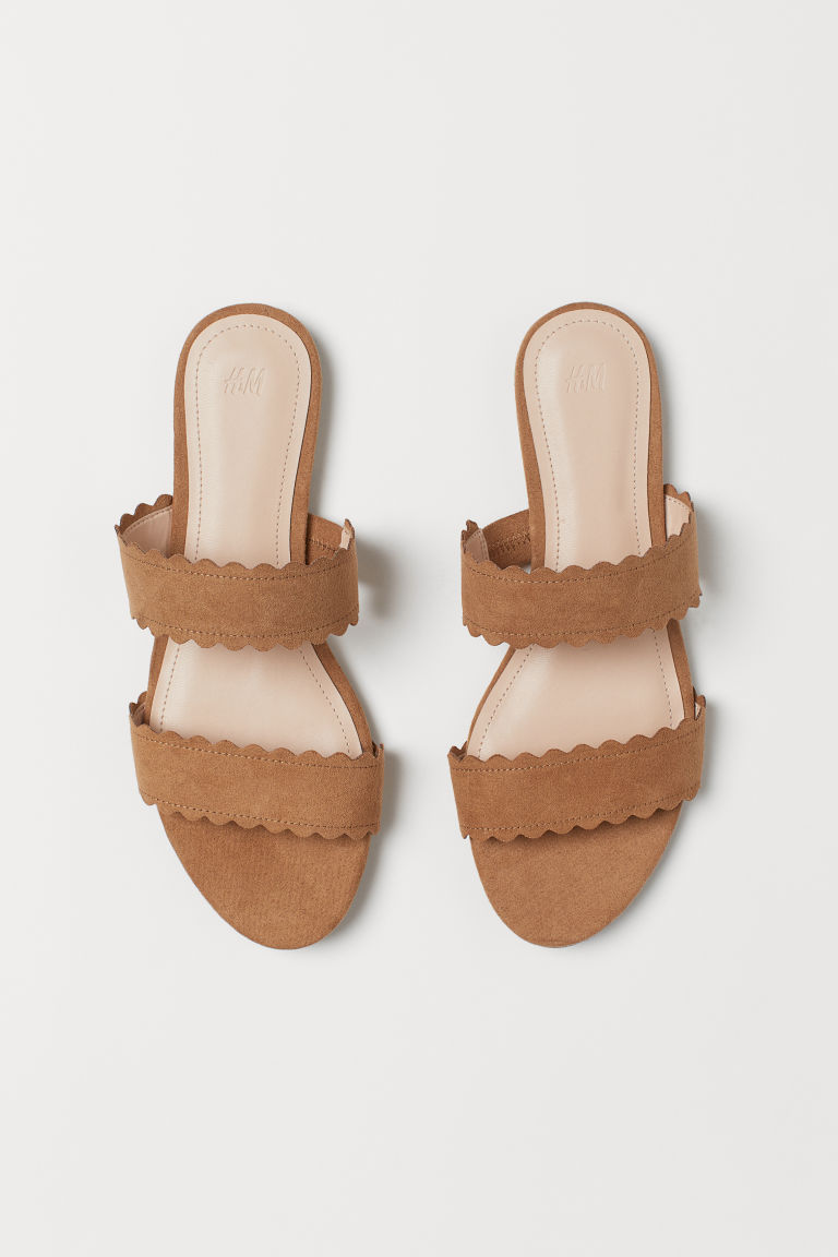 Mules - Light brown -  | H&M IN