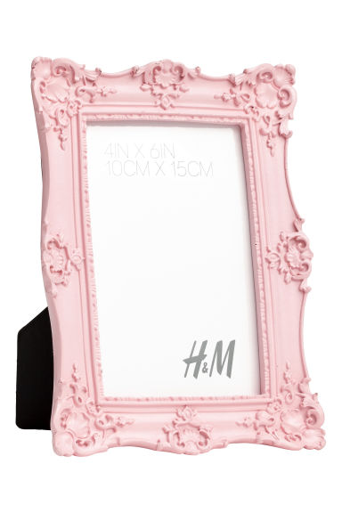 Photo frame - Light pink - Home All | H&M IE