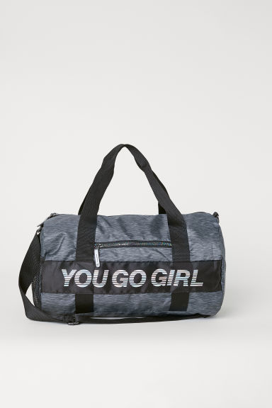 Sports bag - Black marl - Kids | H&M GB