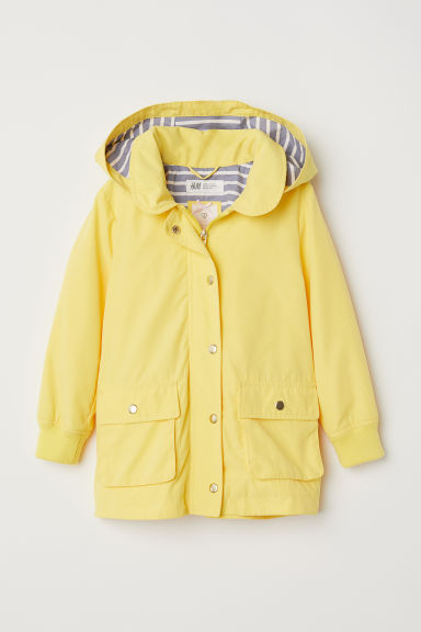 Parka with a hood - Yellow - Kids | H&M