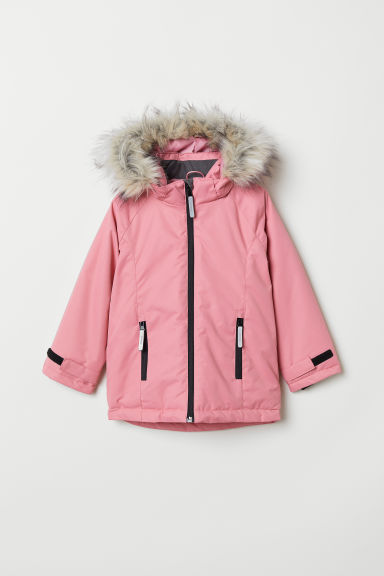 Padded outdoor jacket - Pink - Kids | H&M