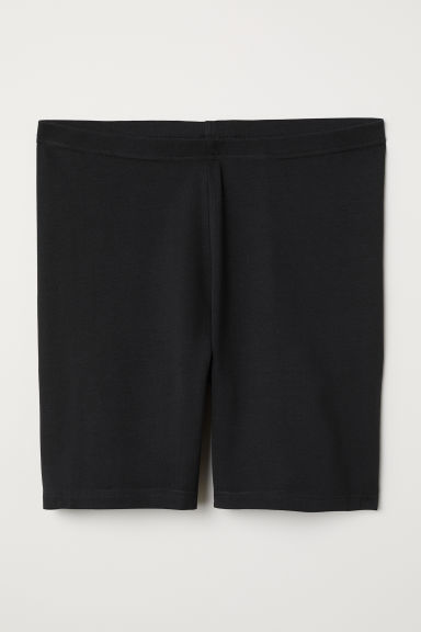 H&M+ Jersey cycling shorts - Black - Ladies | H&M CN