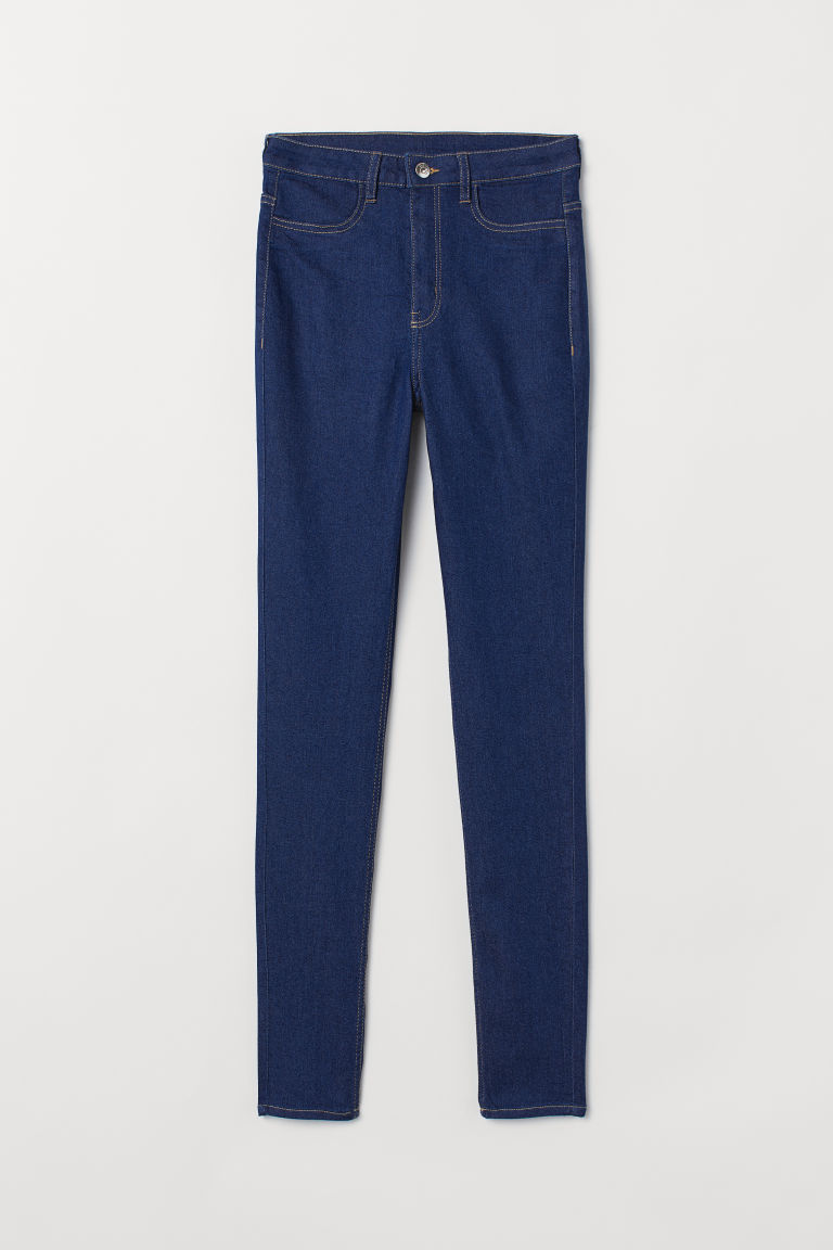 Super Skinny High Jeans - Dark blue -  | H&M CA
