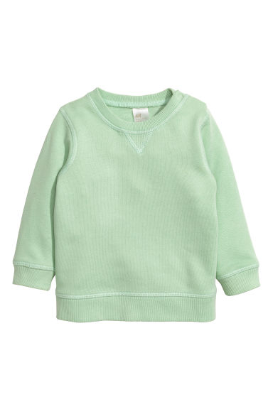 Sweatshirt - Mint green -  | H&M CN