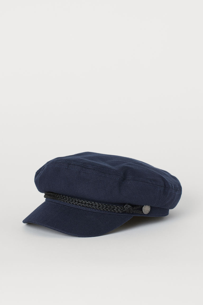 Captain's cap - Dark blue - Men | H&M CN