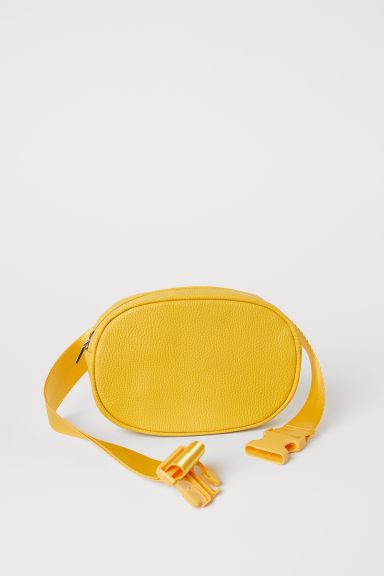 Oval waist bag - Yellow - Ladies | H&M