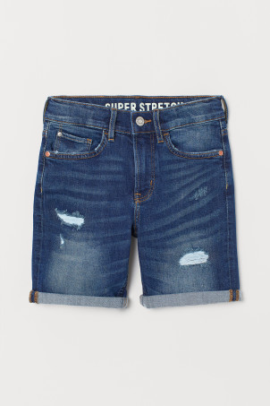 Shorts in denim Slim Fit
