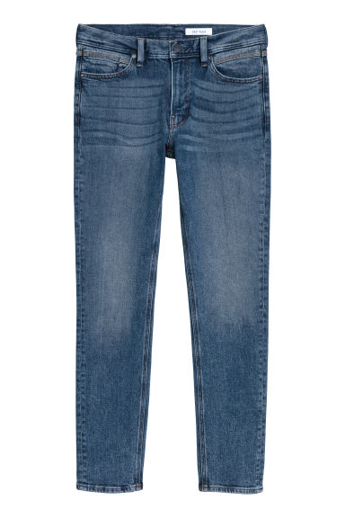 360° Flex Slim Jeans - Dark denim blue - Men | H&M