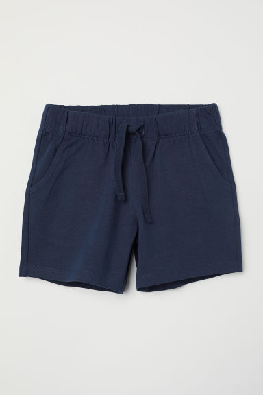 Shorts in jersey - Blu scuro - BAMBINO | H&M IT
