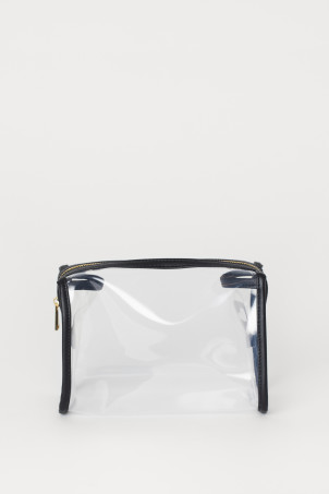 Transparent make-up bag