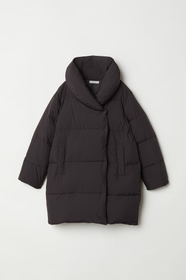 Long Down Jacket - Black - Ladies | H&M US
