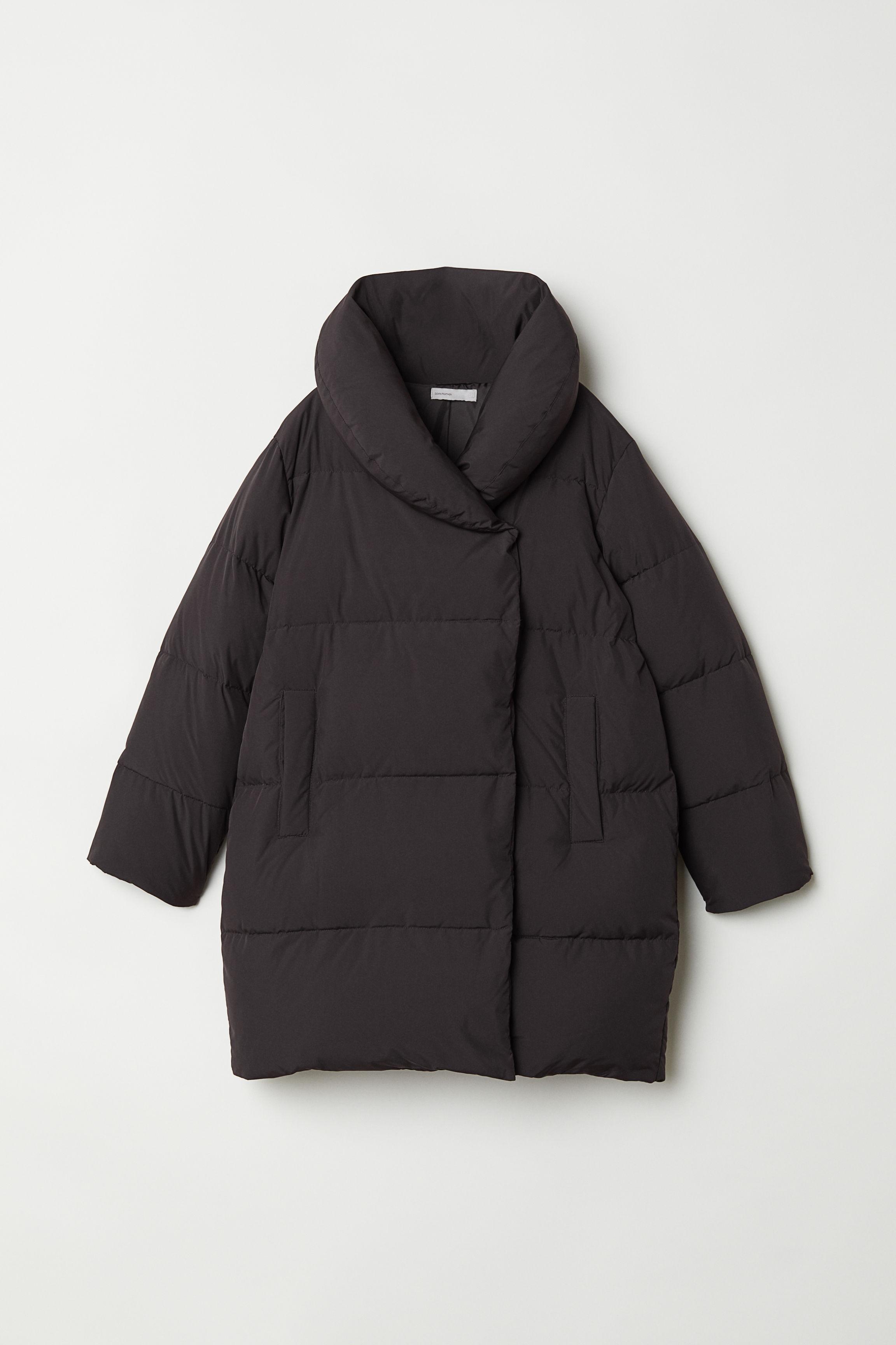 0a7d2769d Long down jacket