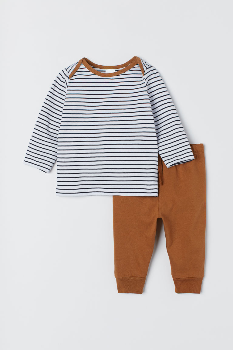 Top and Leggings - Brown - Kids | H&M US