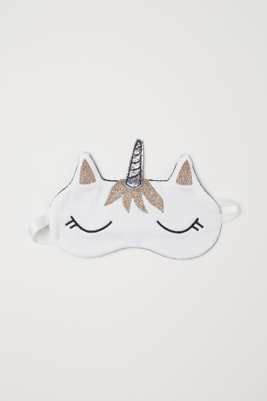 Sleep mask - White/Unicorn - Ladies | H&M CN