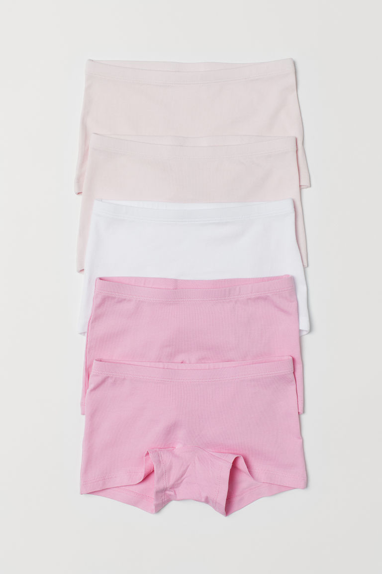 5-pack boxer briefs - Pink - Kids | H&M