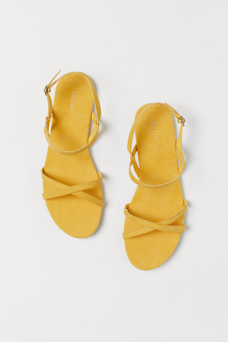 Sandals - Yellow -  | H&M US