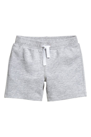 Jersey shorts - Grey marl -  | H&M