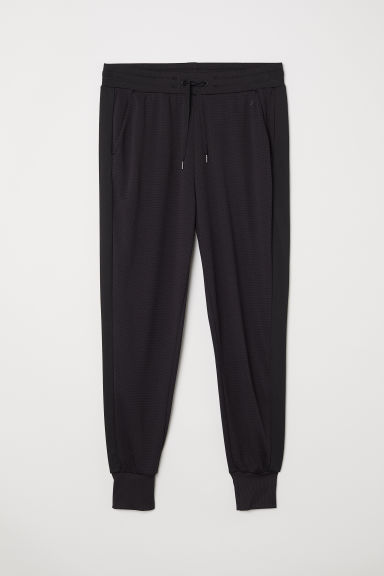 Mesh sports trousers - Black - Ladies | H&M