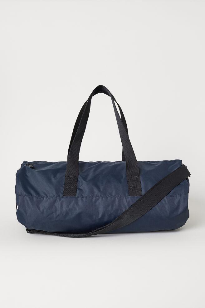 eec8795b6e Cylindrical Sports Bag - Dark blue - Men
