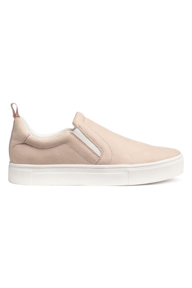 Slip-on sneakers - Lichtbeige - DAMES | H&M BE