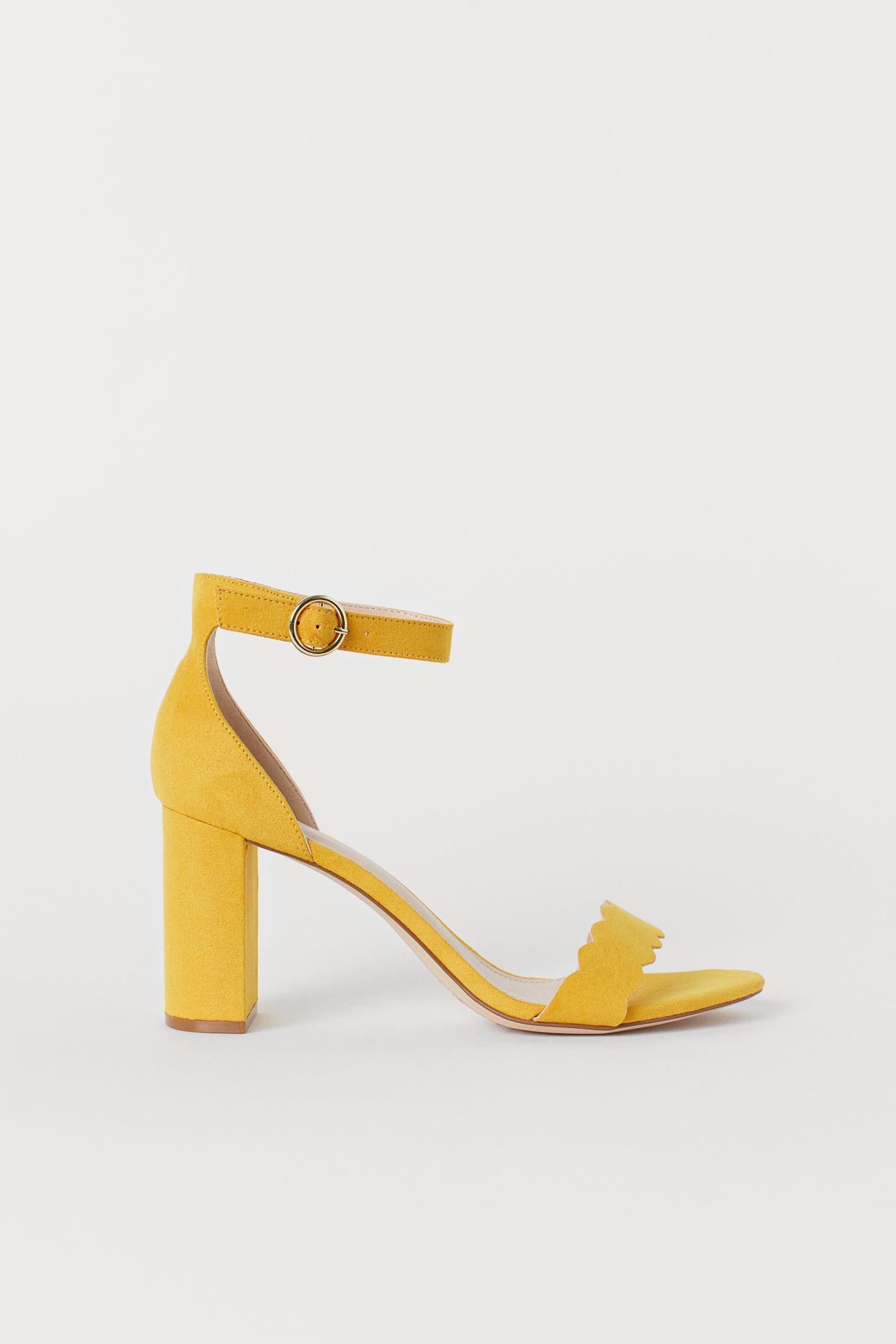 68aa98476a5 Block-heeled Sandals