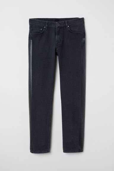 Jeans with side stripes - 深灰色 - Men | H&M CN