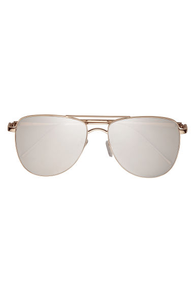 Sunglasses - Gold-coloured - Ladies | H&M CN