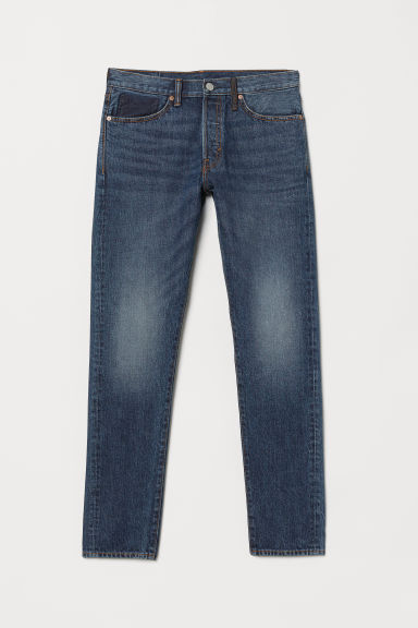 Slim Straight Jeans - Denim blue - Men | H&M