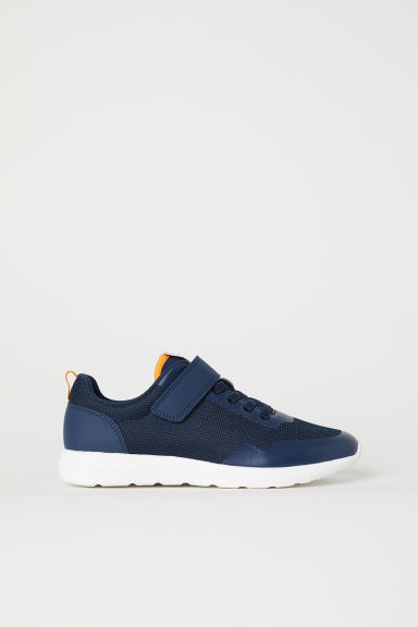 Mesh trainers - Dark blue -  | H&M CN