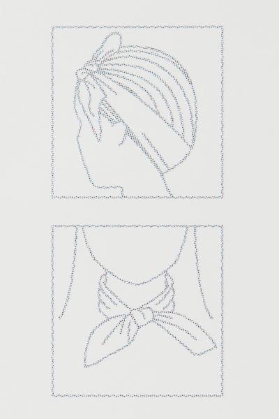 H&M - 2-pack hair scarves - 2