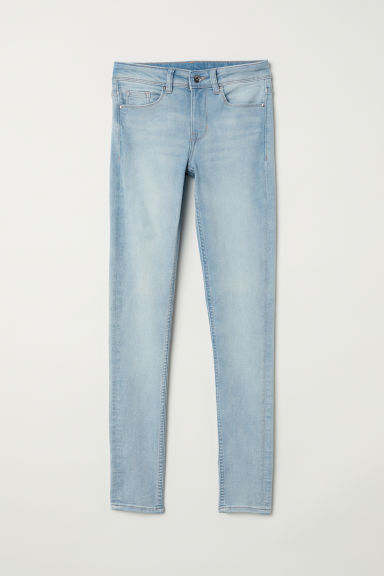 Super Skinny Regular Jeans - ライトデニムブルー -  | H&M JP