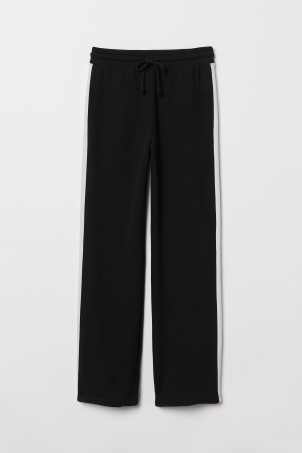 Straight-leg sweatpants