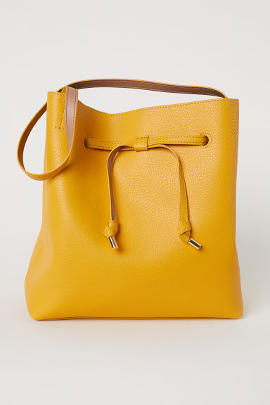 Bucket bag - Yellow - Ladies | H&M