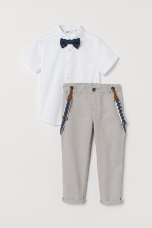 Shirt and trousers
