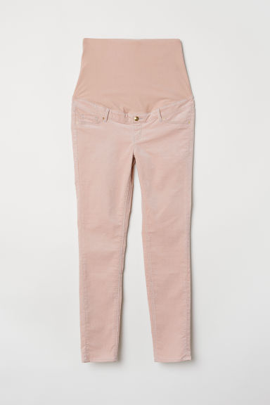MAMA Pantaloni in velluto - Rosa cipria - DONNA | H&M IT