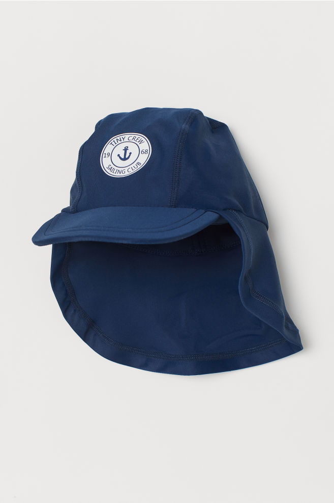 1b79d95dae171b Sun Cap UPF 50 - Dark blue - Kids | H&M ...