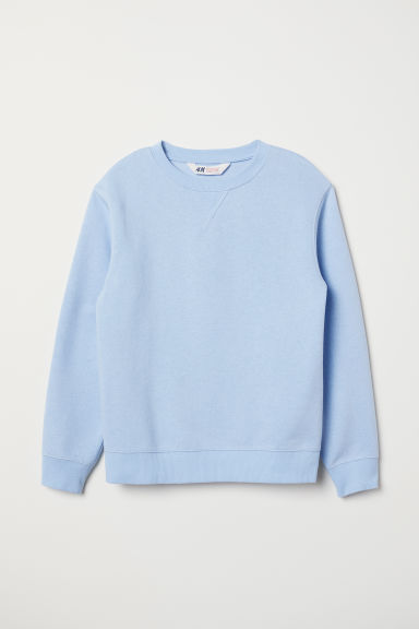 Sweatshirt - Light blue - Kids | H&M